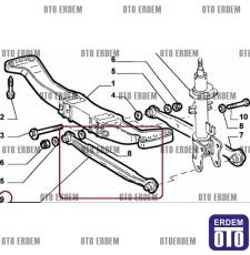 Alfa Romeo 147 Arka Denge Kolu Kısa 60629903 60629903