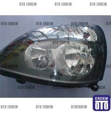 Far Clio 2 Symbol Hatchback Sol İthal Siyah 7701054058 - İthal