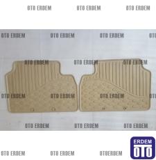 Fiat Doblo Kauçuk Paspas Takımı Orjinal 55170804 55170804