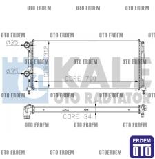 Fiat Doblo Motor Su Radyatörü  55174187 55174187