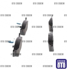 Fiat Doblo Ön Fren Balatası Takımı Ferodo 2001-2005 55170904 55170904