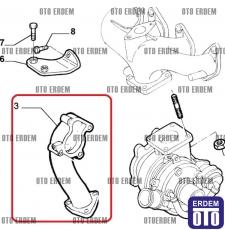 Fiat Doblo Turbo Borusu 1.9 JTD 46748868 46748868