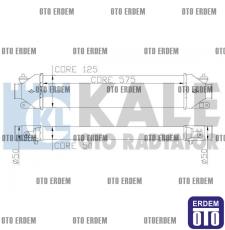 Fiat Doblo Turbo Radyatörü  51783791  51783791