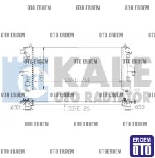 Fiat Ducato 4 Motor Su Radyatörü 1 Sıra 1362308080 1362308080
