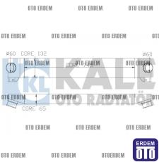 Fiat Ducato Turbo Radyatörü 0384K1  0384K1