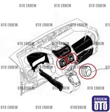 Fiat Fiorino Kalorifer Izgarası Orta 735460869 735460869