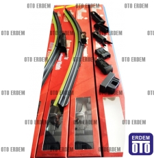 Fiat Fiorino Silecek Süpürgesi Takım UPY4865