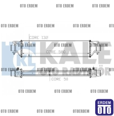 Fiat Linea Turbo Radyatörü  51785255 51785255