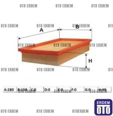 Fiat Stilo Hava Filtresi 1,6 46809151
