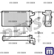 Fiat Tempra Kalorifer Radyatör Peteği Musluksuz 7754065