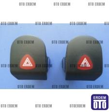 Kangoo Dörtlü Flaşör Düğmesi 7700308821 - Dav