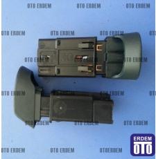 Kangoo Dörtlü Flaşör Düğmesi 7700308821 - Dav 7700308821 - Dav