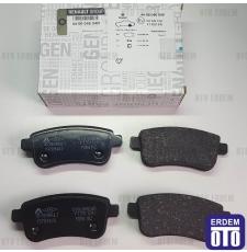 Megane 3 Arka Disk Balatası Takım (Otomatik El Freni) 440601416R 440601416R
