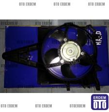 Palio Siena Fan Motoru Komple 1997 - 2002 Klimasız 46449133 - Orjinal