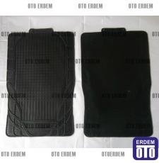 Paspas Takımı Siyah Kauçuk Üniversal LEOPAR004