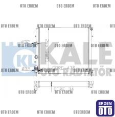 Renault Kangoo Motor Su Radyatörü 2 Sıra 7700312858 7700312858