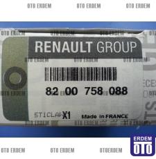 Renault Krank Dişlisi K4M Motor Mais 8200758088 8200758088