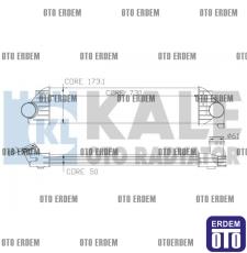 Renault Master 3 Turbo Radyatörü Kale 4420575 4420575