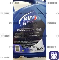 Şanzıman Yağı Elf Elfmatic-G3 Otomatik (3 Litre) ELFG3-3LT - ELF
