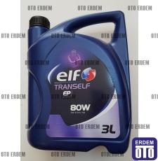 Şanzıman Yağı Elf Tranself EP-80 (3 Litre)