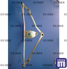 Silecek Motor Şasesi Alt Kolları Komple Frezeli R9 - R11 7702127714 - Mako