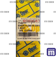 Tempra Tipo Kilometre sensörü Eski Tip 7749777 - Opar 7749777 - Opar