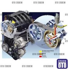Triger Eksantirik Açı Kaydırıcı Ayarlı Dişli - Renault - Megane 2 - Scenic 2 7701478505 - Mais 7701478505 - Mais