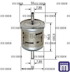 Yakıt Filtresi 1.6 16v-2.0 20v BRAVO/BRAVA/MAREA (benzinli) 71736100