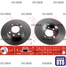 Twingo Ön Fren Disk Takımı 7701204285