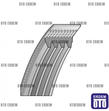 Fiar -Brava - Bravo - Marea - Hidrolik Direksiyon Kayışı - 4PK962 46542302 - Dayco