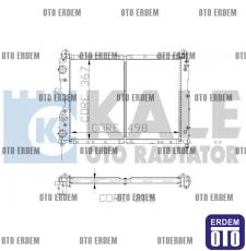 Fiat Tempra Motor Su Radyatörü 1 Sıra 7641779