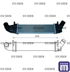 Dacia Logan Turbo Radyatörü 6001548727