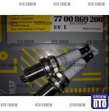 Buji Renault Enjektörlü Tüm modeller için EYQUEM 7700869200 - takım