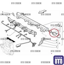Marea HGT Benzin Geri dönüş Valfi 7700872504 - 3