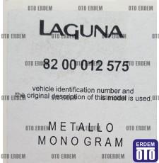Laguna 2 Bagaj Yazısı (Laguna Yazı Metal) 8200012575 - 3