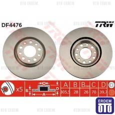 Alfa 159 Ön Disk Takımı TRW 51760621