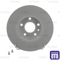 Alfa Romeo 147 Arka Fren Disk Takımı 251Mm Ferodo 82440275