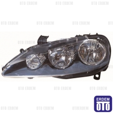 Alfa Romeo 147 Far Lambası Sağ Siyah (Motorlu) Depo 60695447