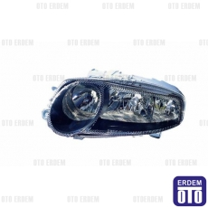 Alfa Romeo 147 Far Lambası Sol Siyah Depo 60686818