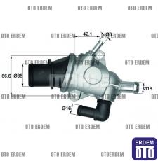 Alfa Romeo 156 Termostat Behr 60653946
