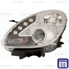 Alfa Romeo Giulietta Far Lambası Sağ Krom (Motorlu Led) Depo 50520227