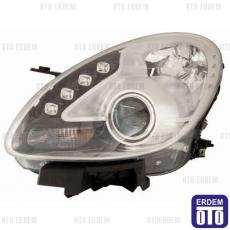 Alfa Romeo Giulietta Far Lambası Sağ Krom (Motorlu Led) Depo 50547542