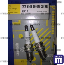 Buji Renault Enjektörlü Tüm modeller için EYQUEM 7700869200 - takım - 3