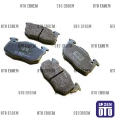 Clio 1 Ön Fren Balatası Takımı TRW 7711130034 - GDB327