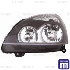 Clio 2 Far Lambası Sağ (Siyah Motorlu) Depo 7701051770
