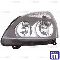 Clio 2 Far Lambası Sol Gri Depo 7701057654