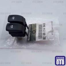 Clio 3 Cam Tuşları Ön Sol 8200214943
