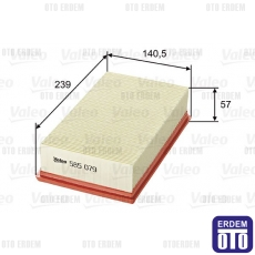 Clio 3 Hava Filtresi Valeo 8200399214