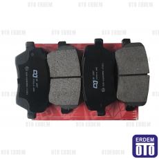 Clio 3 Ön Fren Balata Takımı DJ Parts 410608481R