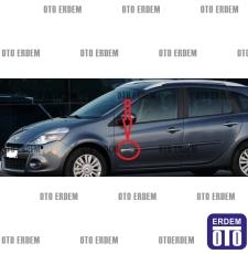 Clio 3 Ön Kapı Bandı Çıtası Ön Kısım Ufak Sol 8200929968 - 5